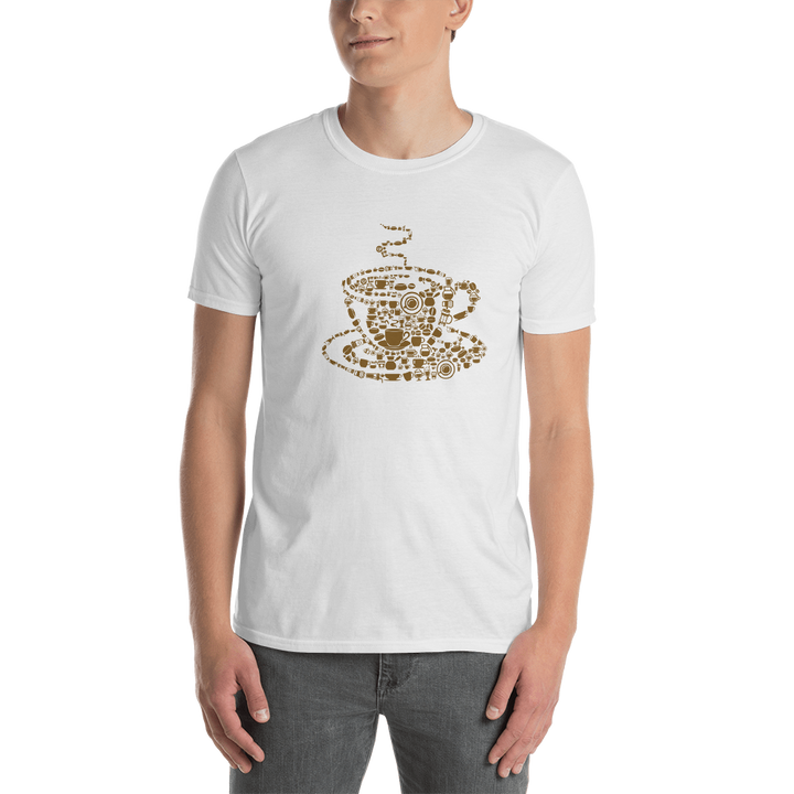 Coffee Short-Sleeve Unisex T-Shirt - Spgetti