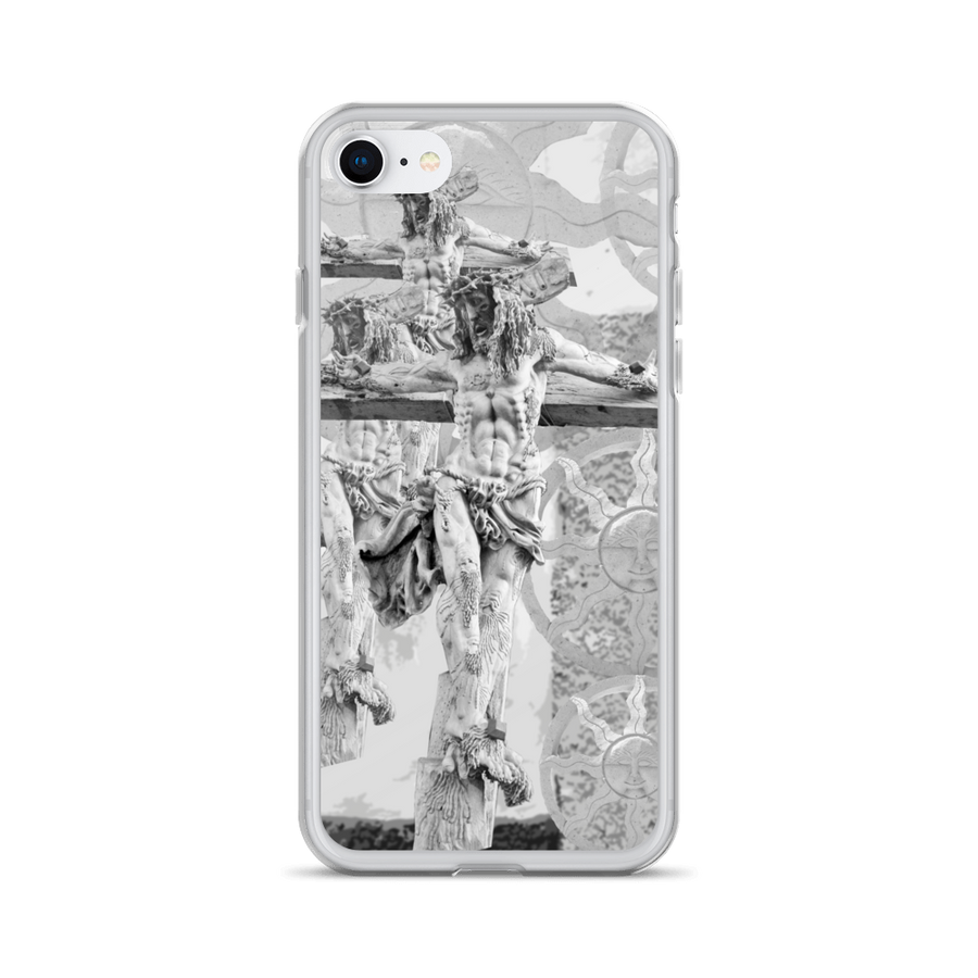 Carved Jesus iPhone Case - Spgetti