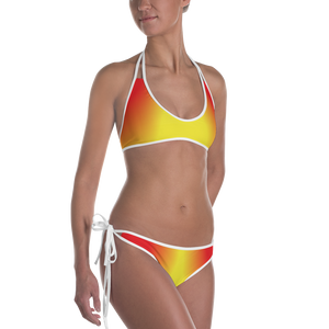 Red and Yellow Bikini - Spgetti