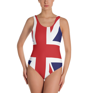 Union Jack One-Piece Swimsuit