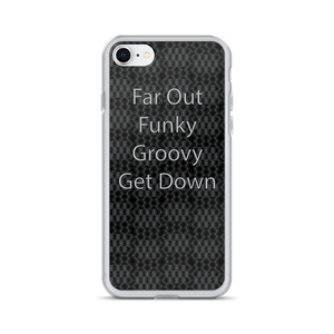 Far Out Funky Groovy iPhone Case - Spgetti
