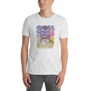 Magic City Water Color Short-Sleeve Unisex T-Shirt