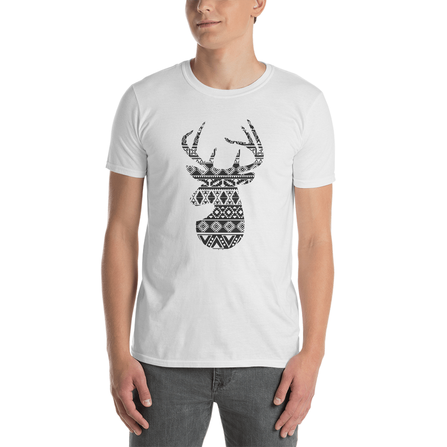 Deer Short-Sleeve Unisex T-Shirt - Spgetti