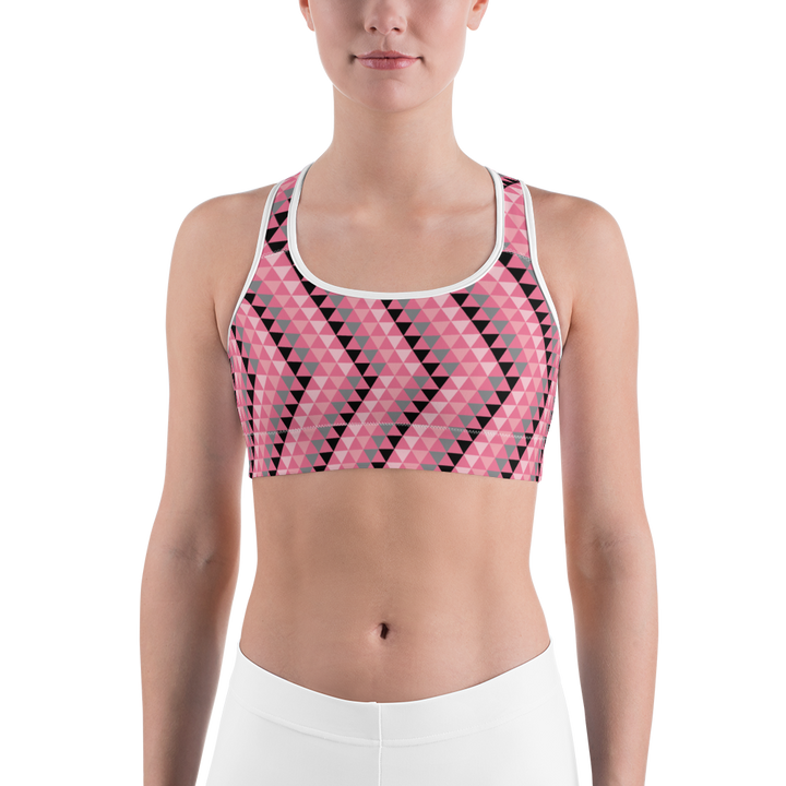 Pink Triangle Sports bra