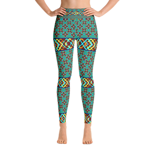 Southwest Pattern 1 Yoga Leggings