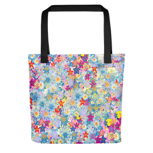 Beautiful Floral Tote bag - Spgetti