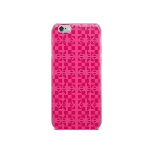 Pink Pattern iPhone Case