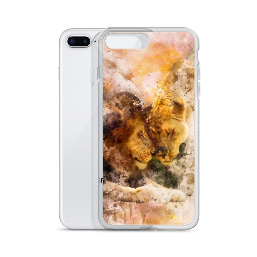 Lion Love iPhone Case - Spgetti