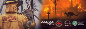 JOOLTOOL pledges to help victims of Australia's catastrophic fires.