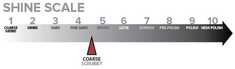 Shine Scale - Red Scrubby