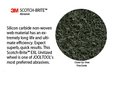 Scotchbrite EXL Technology