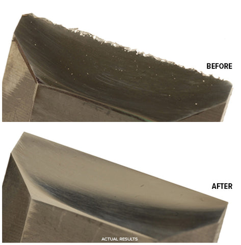 Before After Chisel Sharpening