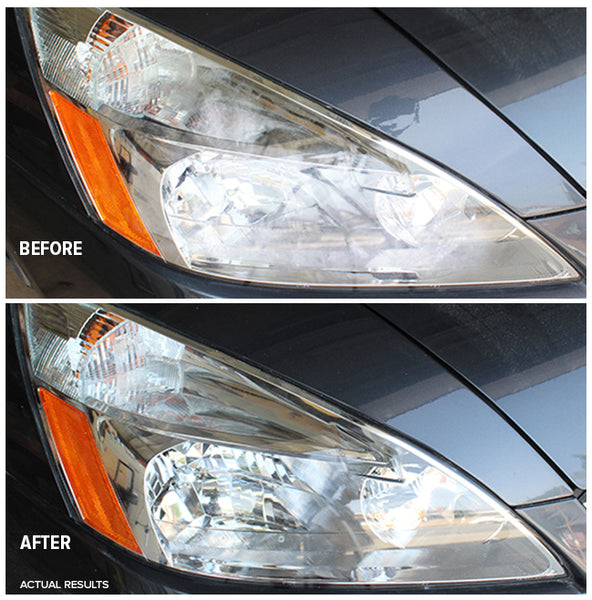 Before After Headlight Polishing