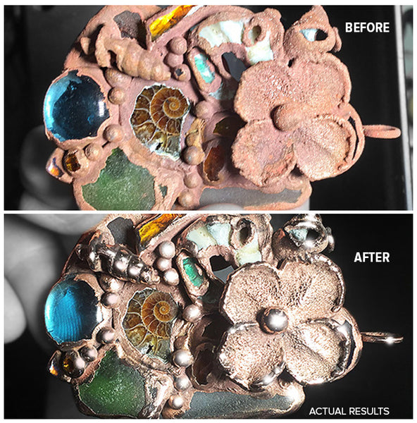Before After Mixed Media Metal Stone & more