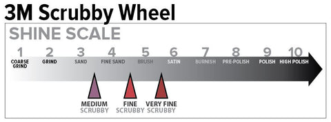 3M Scrubby Wheel Shine Scale