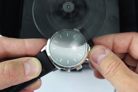 Polishing a Watch Crystal
