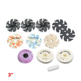 Polymer Clay & Resin Add-On Kit for Flat Pieces