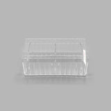 CLEAR ORGANIZERS WITH DIVIDERS
