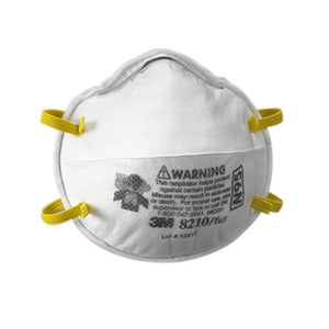 3M RESPIRATOR / DUST MASK (3-pack)