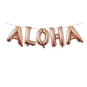 Aloha Bride Lets Flamingo Bachelorette Party Decoration