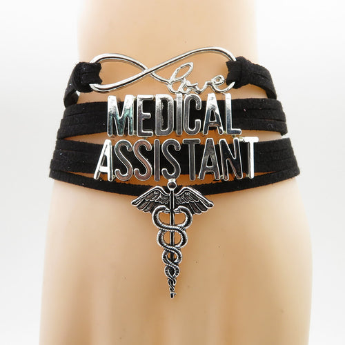 Medical assistants wear this bravely