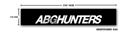 """ABGHUNTERS"" Banner"