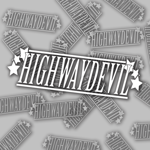6 Star Highway Devil Decal