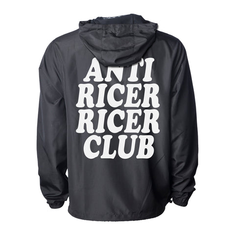 """ANTI RICER RICER CLUB"" Anorak Jacket"