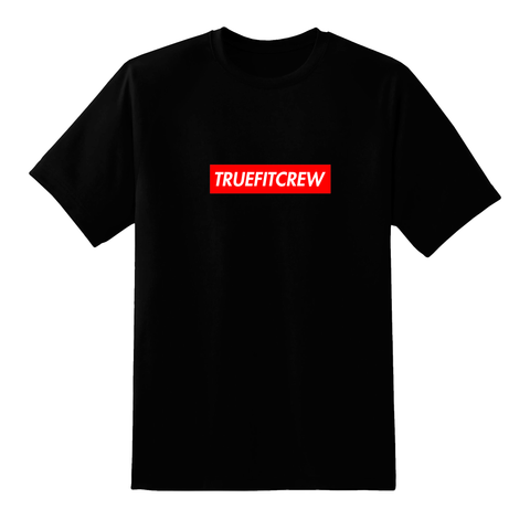 TrueFitCrew Box Logo Tee - Black