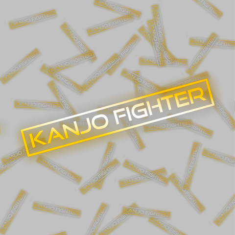 """Kanjo Fighter"" Decal"