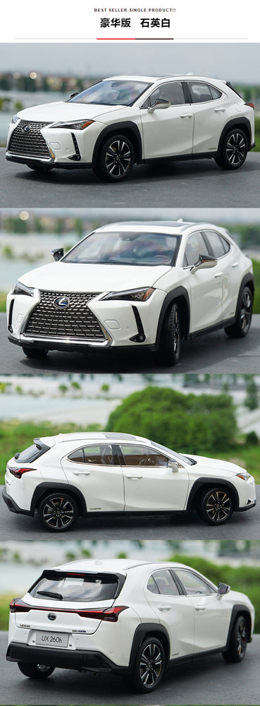 Collectiable high grade 1:18 LEXUS UX260h UX scale diecast classic model for gift