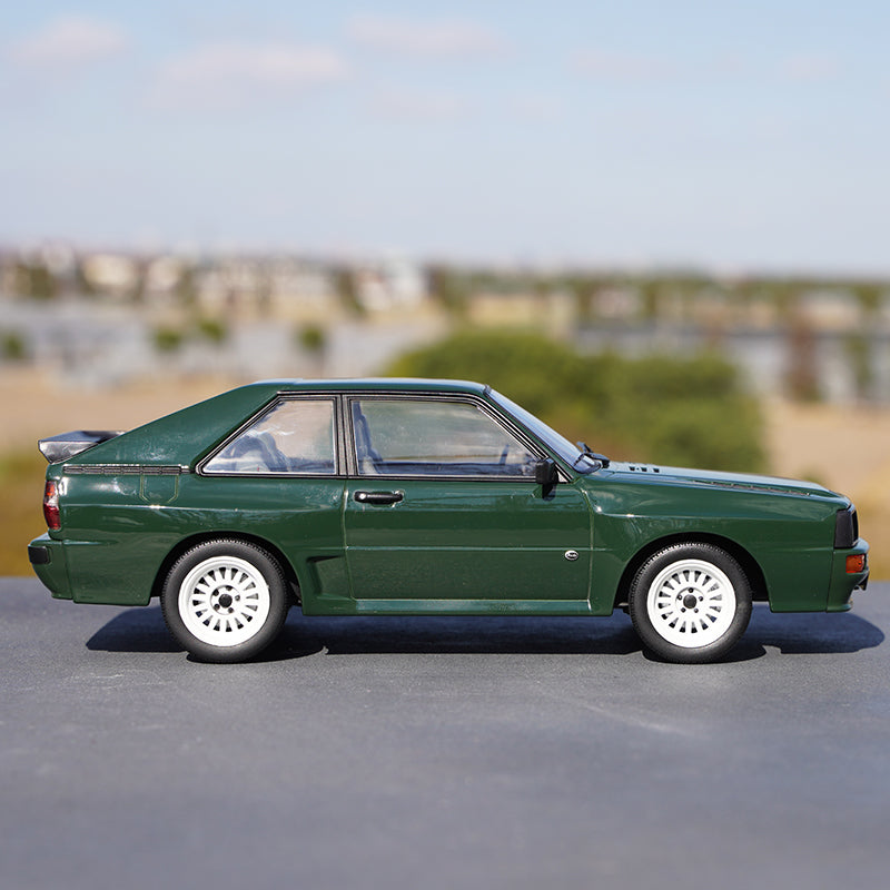 Classic collectiable 1:18 NOREV Audi Sport Quattro 1985 alloy simulation car model for promotion gift