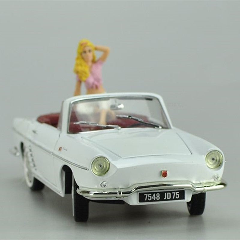 Original factory authentic 1:18 NOREV RENAULT figurine diecast car models with small gift