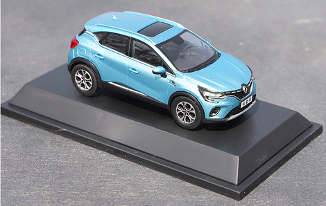 Original factory 1:43 Dongfeng Renault Koleos Diecast alloy car model for gift, collection, toys