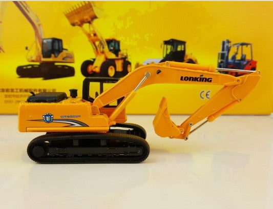 Original factory authentic 1:64 Diecast LONKING CDM6225H excavator model for gift, collection