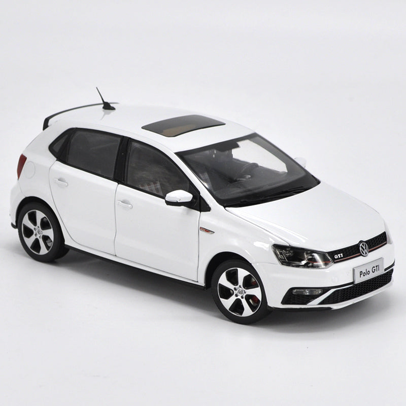Original factory authentic 1:18 2015 NEW POLO GTI diecast car model for collection, gift, toys