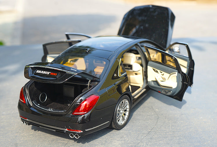 High classic 1:18 Almost Real AR Maybach S series brabus 900 diecast car model with small gift