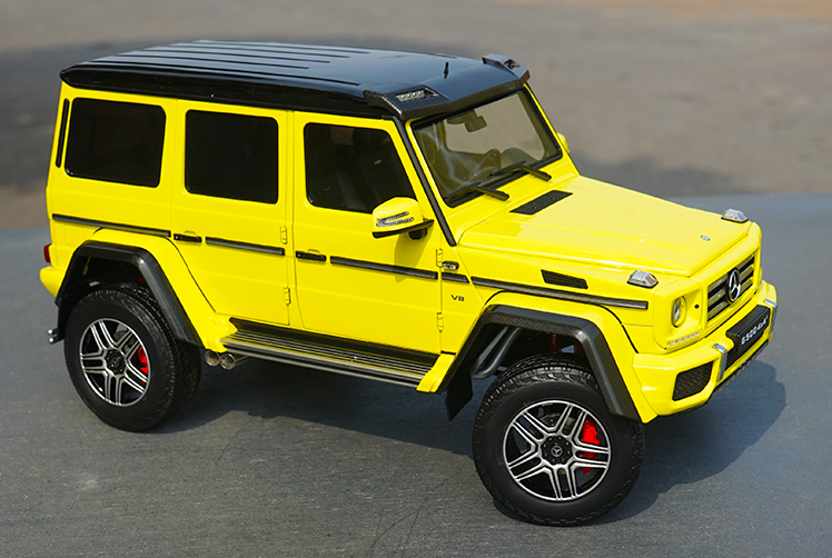 1:18 Almost Real Benz G500 4x4 Benz G G series AR diecast toy car models with small gift
