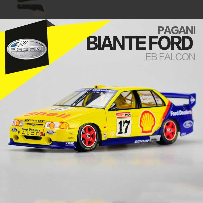 Original factory authentic 1:18 BIANTE Ford EB Falcon Australian touring car championship diecast car models with small gift