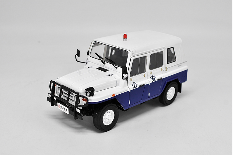 Original factory authentic 1:18 Beijing Jeep 2020 BJ2020 patrol wagon diecast metal SUV car model with small gift