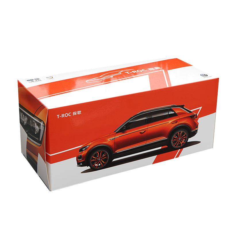 1:18 Dealer Edition Volkswagen VW T-ROC TROC 280STI 2018 Metal Diecast Car Model with small gift