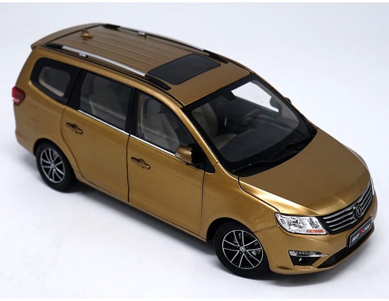 Original Factory authentic 1:18 Fxauto S500 MPV diecast metal SUV car model with small gift