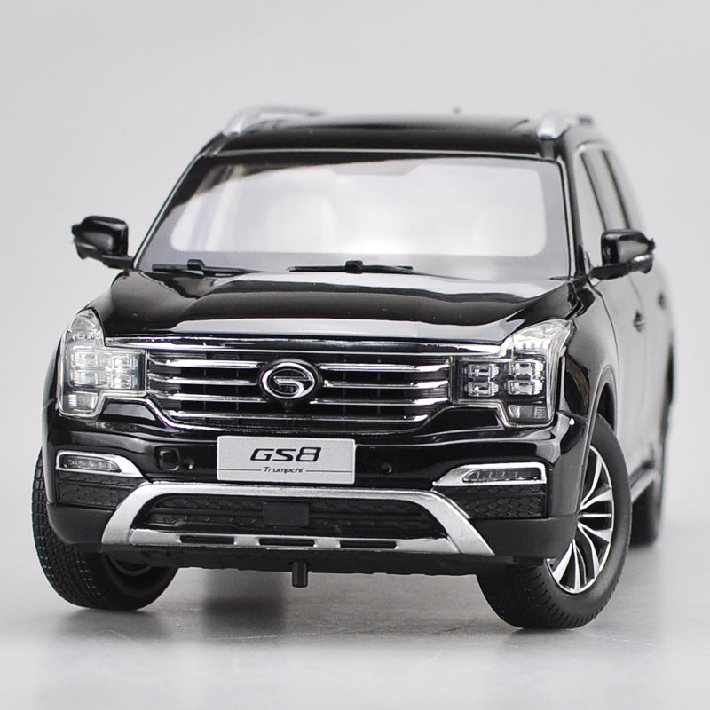 Original factory authentic 1:18 GAC GS8 Trumpchi 2016 off-road vehicle diecast car model with small gift