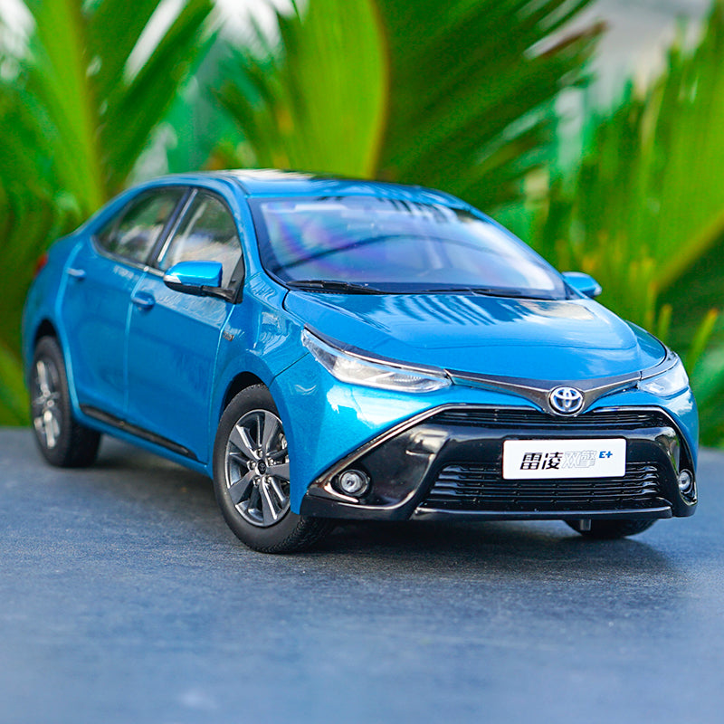 1:18 GAC Toyota E+ TOYOTA LEVIN metal car models 2019 version