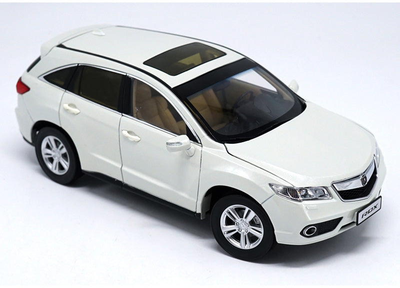 Original factory authentic 1:18 HONDA ACURA RDX diecast SUV car model with small gift