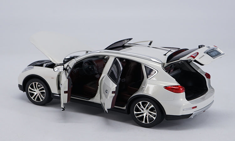 Original factory authentic 1:18 INFINITI QX50 off road Vehicle diecast car models with small gift