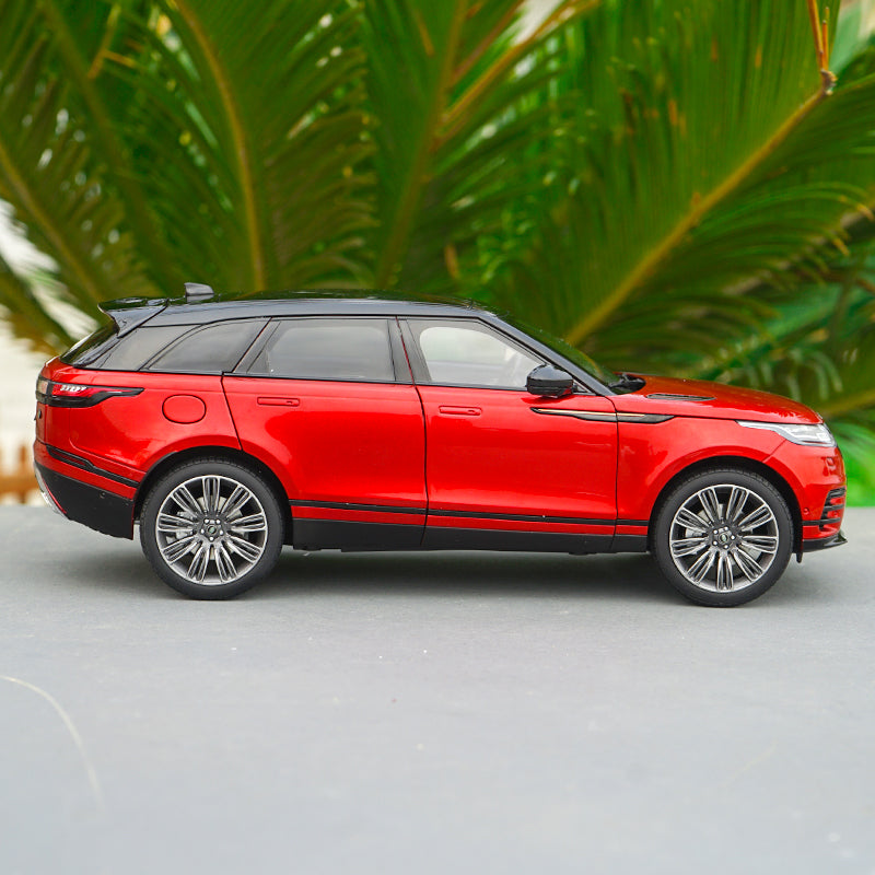 Original Authorized Authentic 1:18 LCD Land Rover Range Rover Velar SUV Diecast car model made by Motor City Classics Classic for gift,collection