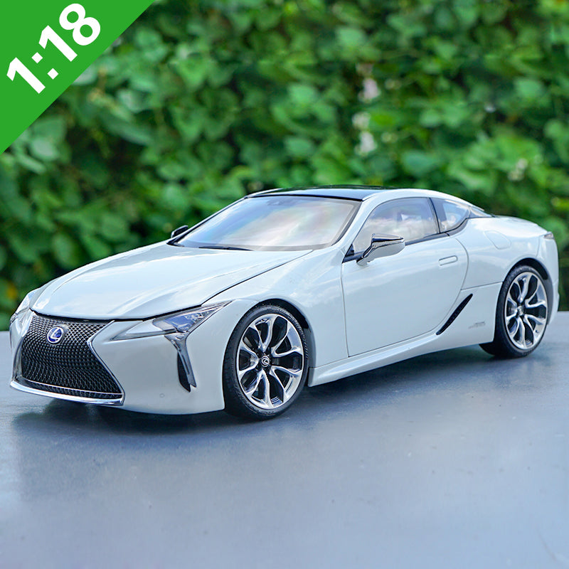Original factory authentic 1:18 LEXUS LC500h LC500 diecast metal scale car models for gift, collection, toys