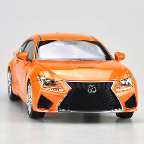 Original factory authentic 1:18 LEXUS RCF Sportscar diecast car model for collection, gift, toys