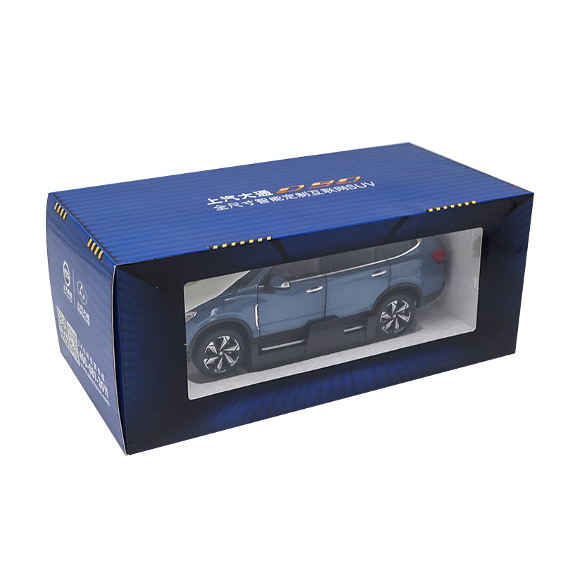 Original factory authentic 1/18  MAXUS D90 diecast metal SUV car model with small gift